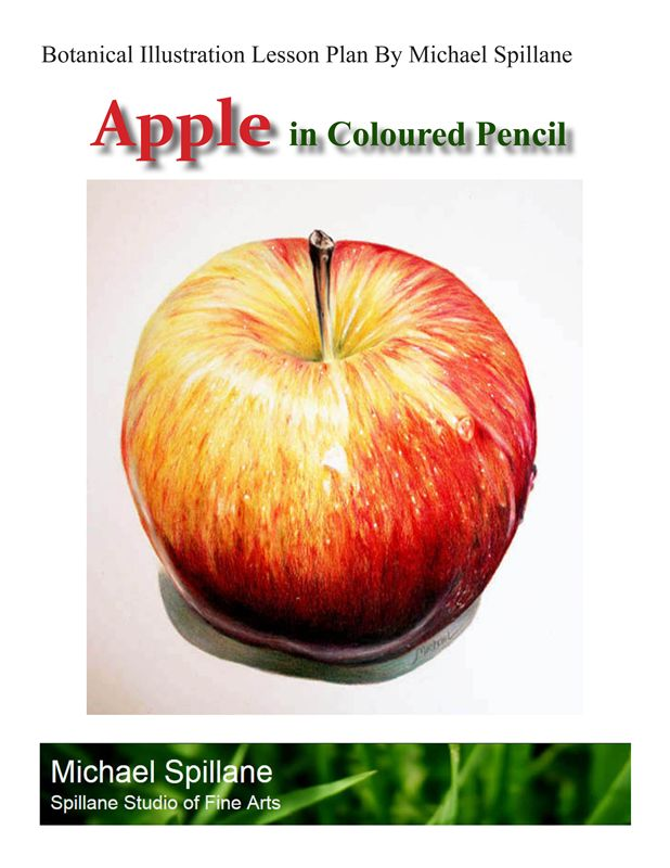 Apple in Coloured Pencil Project Package