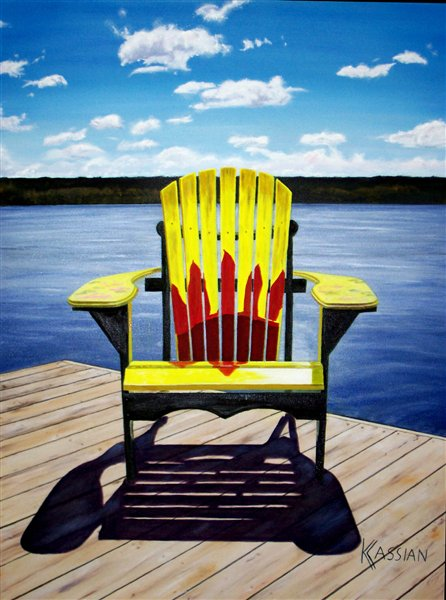 Muskoka Chair By Karen Cassian