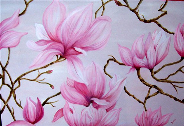Magnolias By Grace Lackner