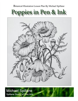 Poppies in Pen & Ink Project Package